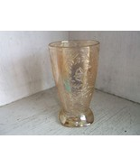"""Jeannette Glass Floragold """"Louisa"""" Footed Tumbler - $9.90"""