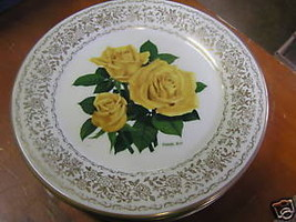 GORHAM Rose of Year Collection Plate- NEW DAY  1977......................SALE - $11.09