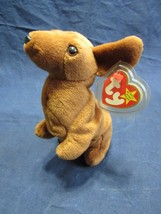 Weenie the Dog Ty Beanie Baby DOB July 20, 1995 Style 4013 - $13.95