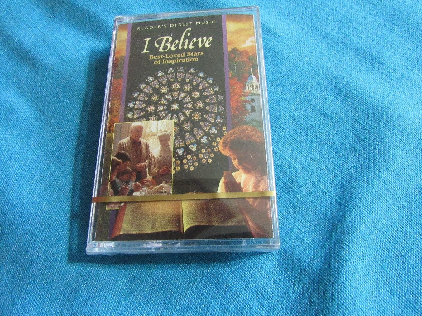 I Believe Best Loved Stars of Inspiration Cassette 4 Tape set Readers Digest NEW
