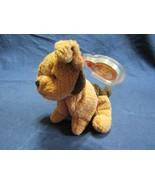 Ty Beanie Baby Original Tuffy Terrier Retired Beanbag Plush Toy Peace Er... - $74.34