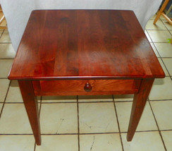 Solid Cherry End Table / Side Table by Century  (BM) - $399.00