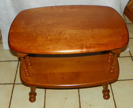 Maple Mid Century End Table / Side Table - $299.00