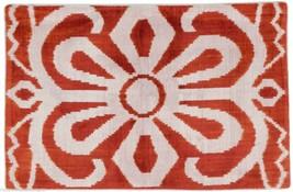 Hand Loomed Silk Velvet Pillow - $115.00