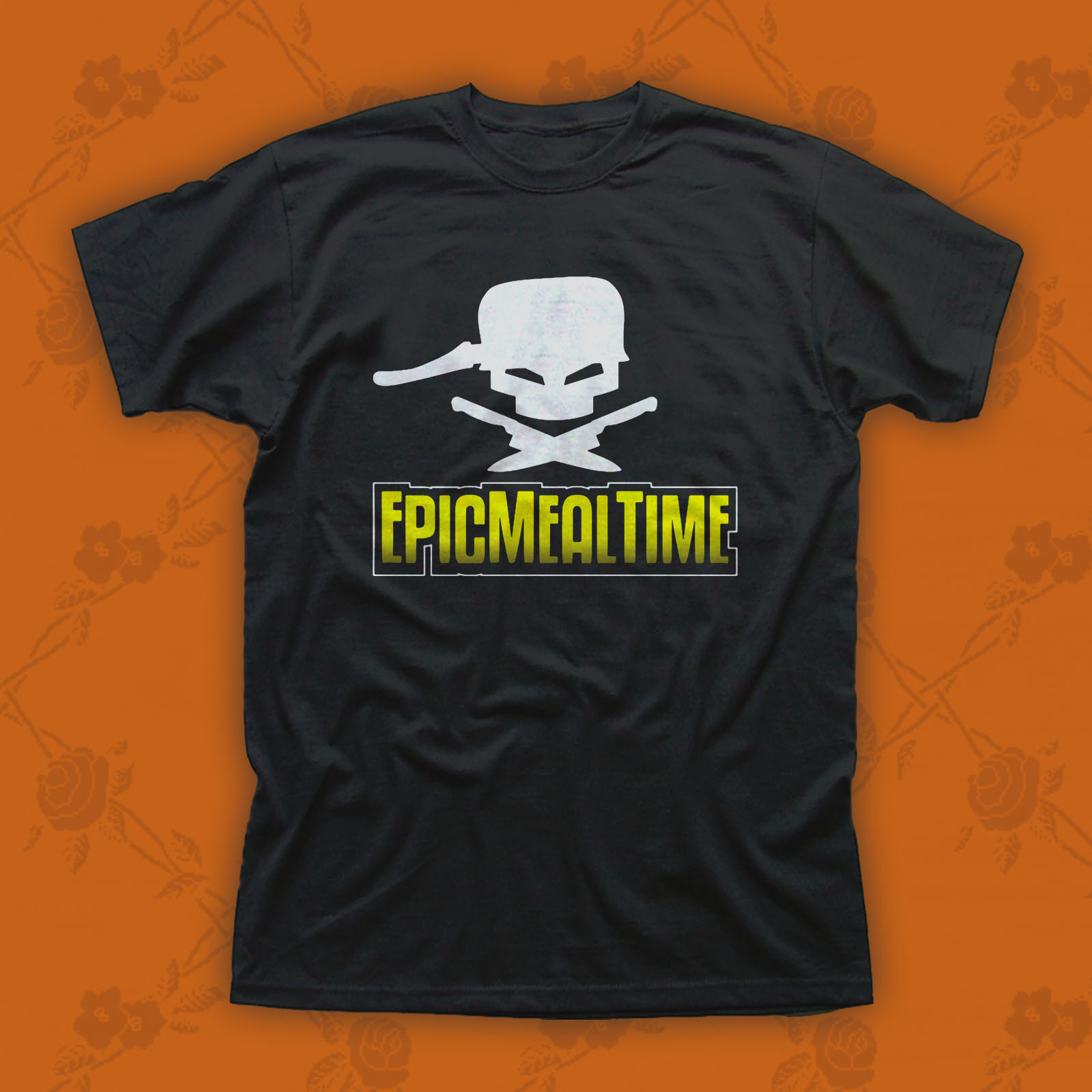 Primary image for Epic Meal Time Logo Mens Black T-Shirt Tee