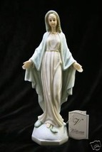 Our Lady of Grace Virgin Mary Italian Statue Sculpture Vittoria Made in Italy - $59.95