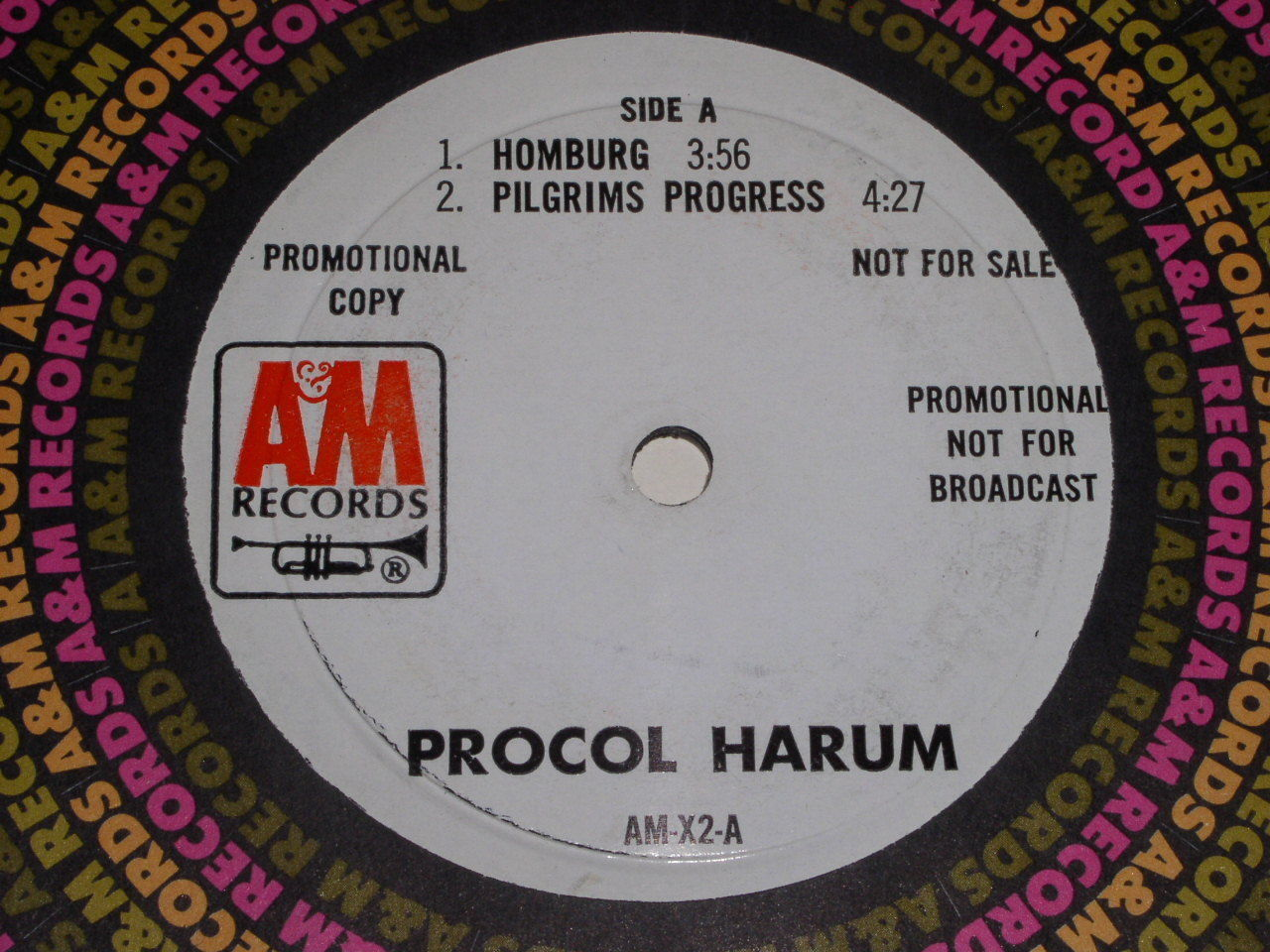 Primary image for Procol Harum 4 Song 45 Rpm Record Vintage Small Hold Promtional