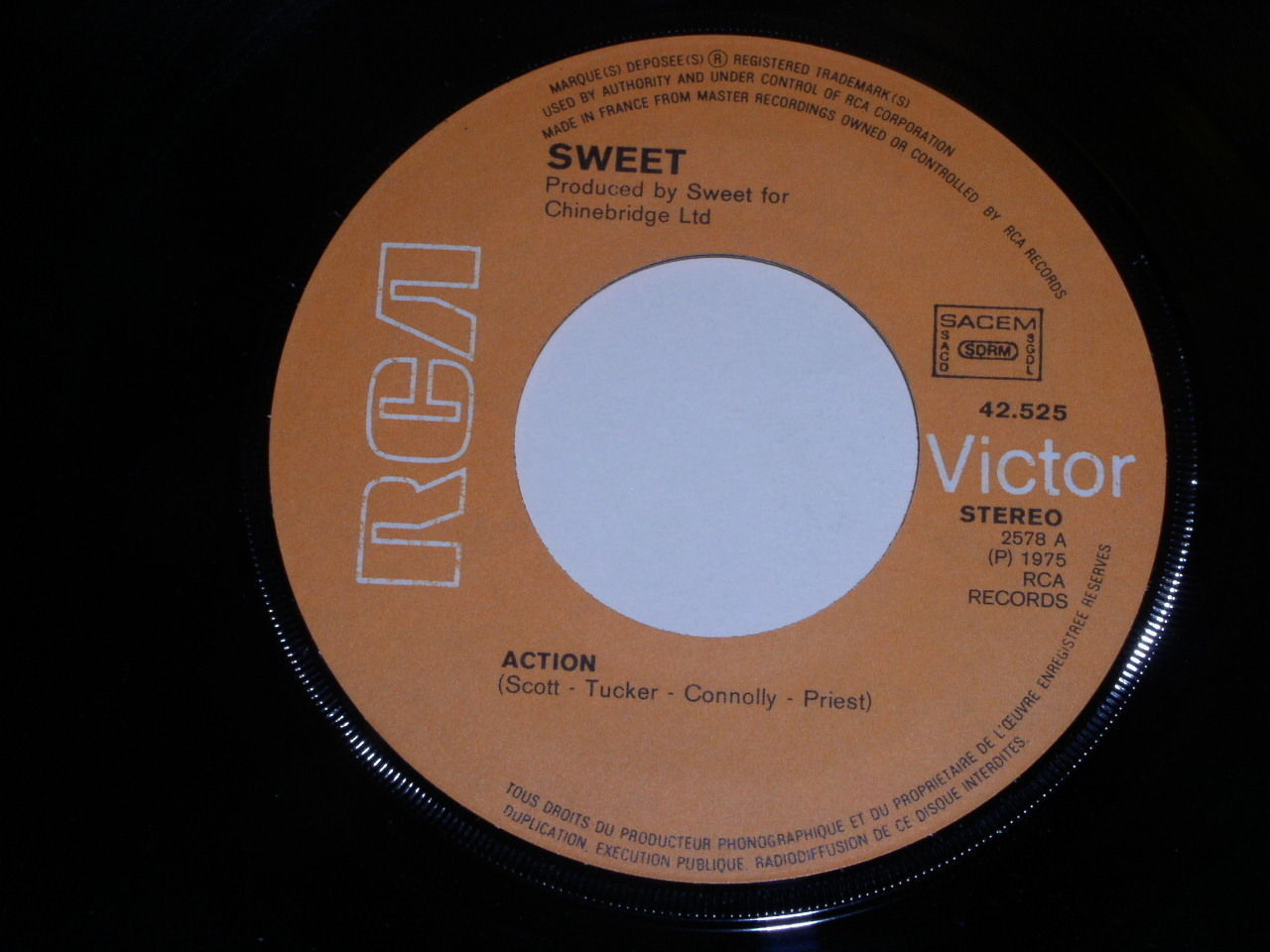 Primary image for Sweet Action Sweet F. A. 45 Rpm Record France Import