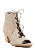 New $275 EILEEN FISHER 'Slew' Bootie Sandal, Ankle Boot, Earth sz 10 - $86.85
