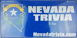 Nevada Trivia: The Game [Board Game ~ Game Complete] - $53.76