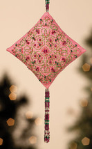 Pink Champagne Tiny Treasures Diamond Ornament Kit 2013 cross stitch Mill Hill - $8.10