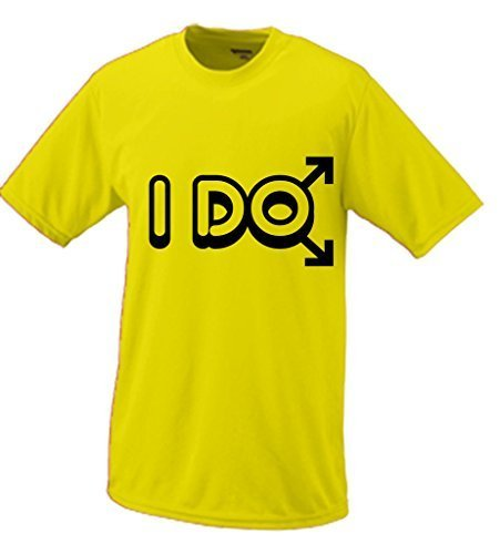 Primary image for I Do Mens Gay Marriage T-shirt Small Yellow [Apparel]