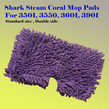 Coral Steam Mop Replacement Microfiber Pads For Shark S3501 S3601 S3901 ... - $9.74