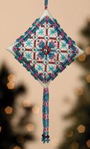 Royal Capri Tiny Treasures Diamond Ornament Kit 2013 cross stitch Mill Hill - $8.10