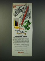 1990 Koh-i-noor Rotring Tikky Fine-Line Mechanical Pencils  Ad - $14.99