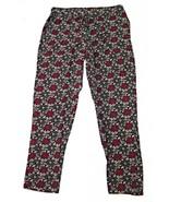 Bandolino Size S Womens Sasha Print Pull On Drawstring Soft Pant Black R... - $10.90