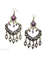 Crystal Chandelier Long Dangle Drop Pierced Earrings #16 - $14.84