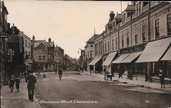 Primary image for c1910 - Moulsham Street, Chelmsford, United Kingdom - Real Photo - Unused