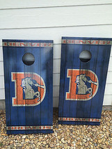 Denver Broncos Corn Hole Boards - Bean Bag Toss Game - $217.80