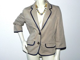 American Eagle Outfitters Women Blazer Jacket Color Tan  Size L - $27.95