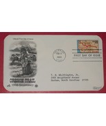 First Day Cover- 150th Anniversary Oregon Trail - $8.00