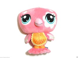 LPS Littlest Pet Shop 2009 Hasbro Collectable Plush Pink Flamingo Toy - $5.00