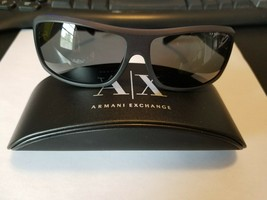 New 100%Authentic Armani Exchange Sunglasses AX4007 8020/87 Matte Black ... - $38.61