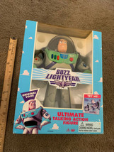 Toy Story Electronic Talking Buzz Lightyear Thinkway 1995 new factory se... - $643.50