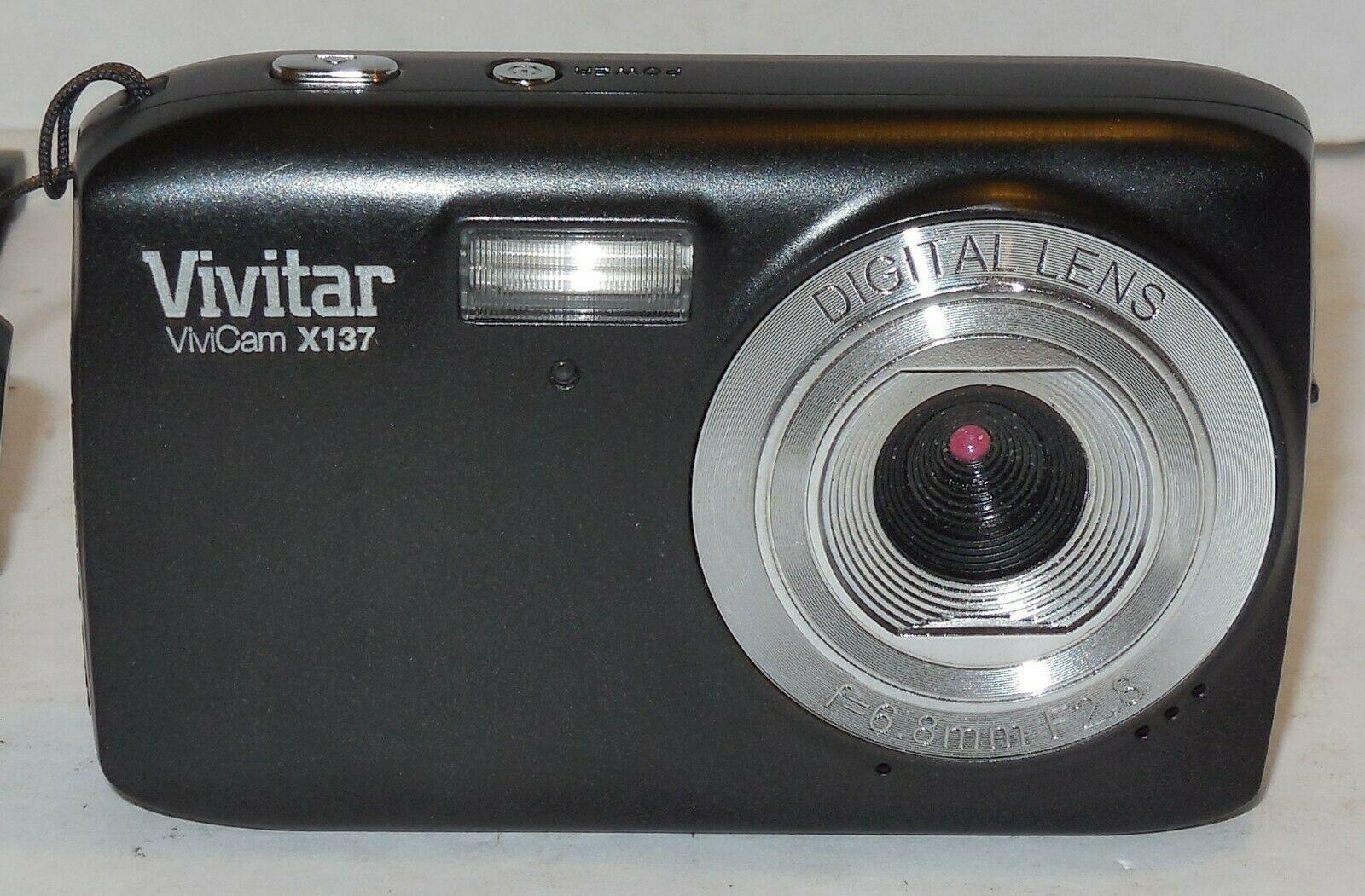 Primary image for Vivitar ViviCam X137 10.1MP Digital Camera - Black