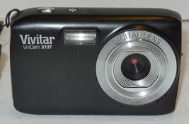 Vivitar ViviCam X137 10.1MP Digital Camera - Black - $35.06