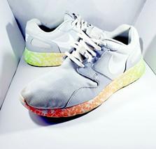 Nike Kaishi Print Roshe Womens Size 8 Running Shoes 705374-010 Gray Oran... - $28.45
