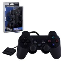 TTX Tech Wired 12 Key Dual Shock 2 Analog Controller For Sony PlayStatio... - $13.75