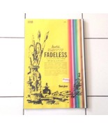 FADELESS  ASSORTED  ART  PAPER  60 SHEETS , 12 X 18 NEW  SEAL - $14.95