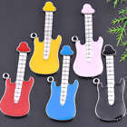 18KGP Enamel Guitar Charms Large