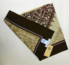 "Coldwater Creek Alhambra Suare Scarf 48"" x 48"" NEW $49.99 Retail - $29.99"