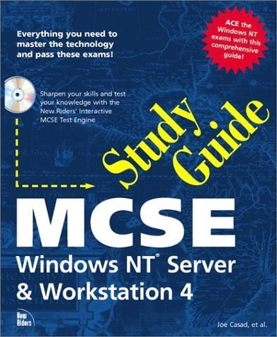 Primary image for MCSE Study Guide: Windows NT Server and Workstation 4 with CDROM (Sams Teach ...