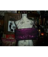 BETSEY JOHNSON Divalicious Purple Studded Clutch - $20.79