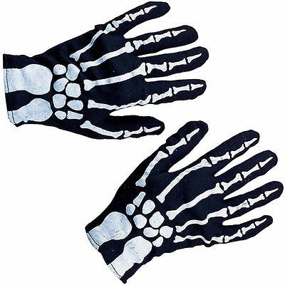 Skeleton Gloves Costume for Halloween Creepy Fun!