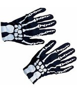 Skeleton Gloves Costume for Halloween Creepy Fun! - £18.47 GBP