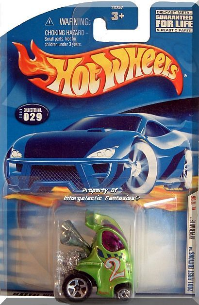 Primary image for Hot Wheels - Hyper Mite: 2001 First Editions #17/36 - Collector #029/240 *Green*