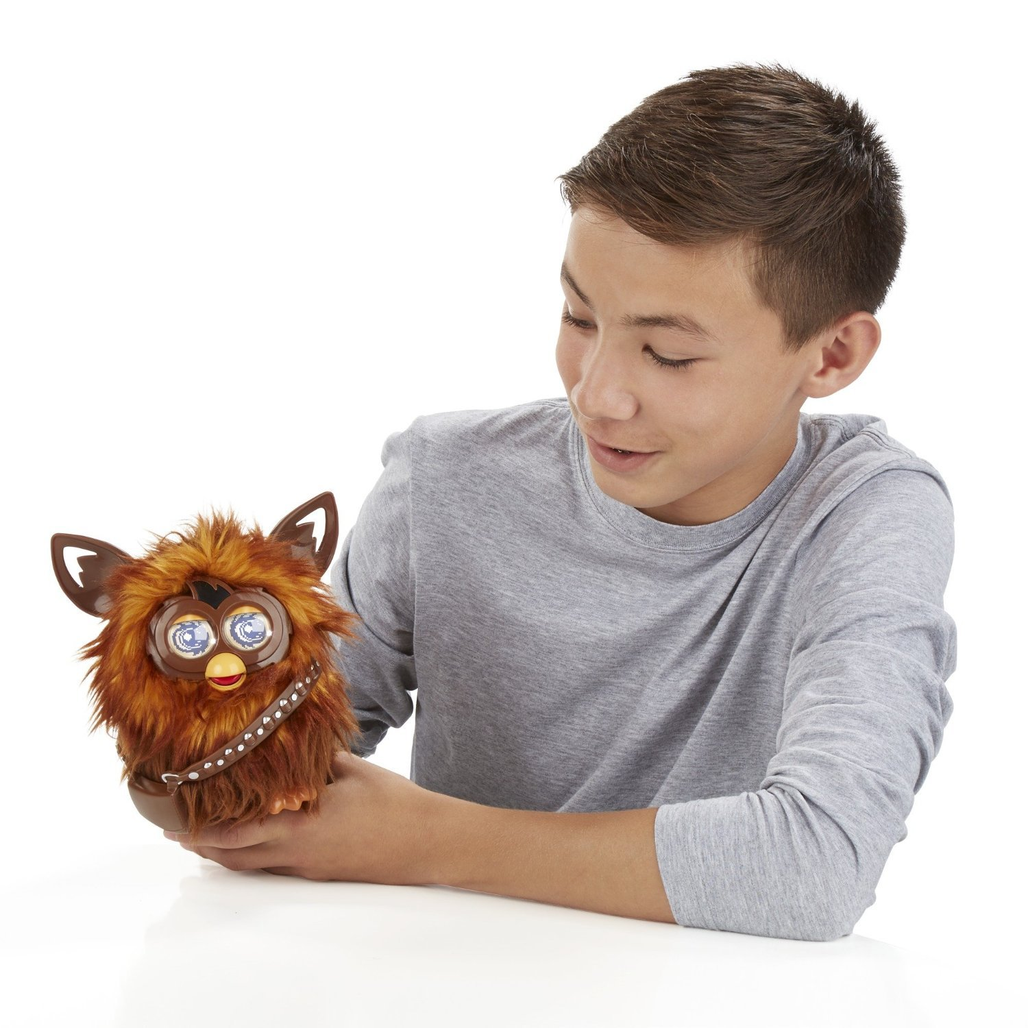 Image 4 of Star Wars Furby Furbacca Interactive Creature, Hasbro, 6+