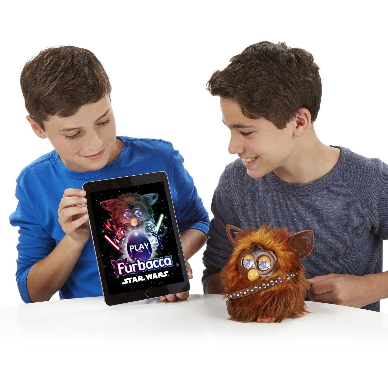 Star Wars Furby Furbacca Interactive Creature, Hasbro, 6+