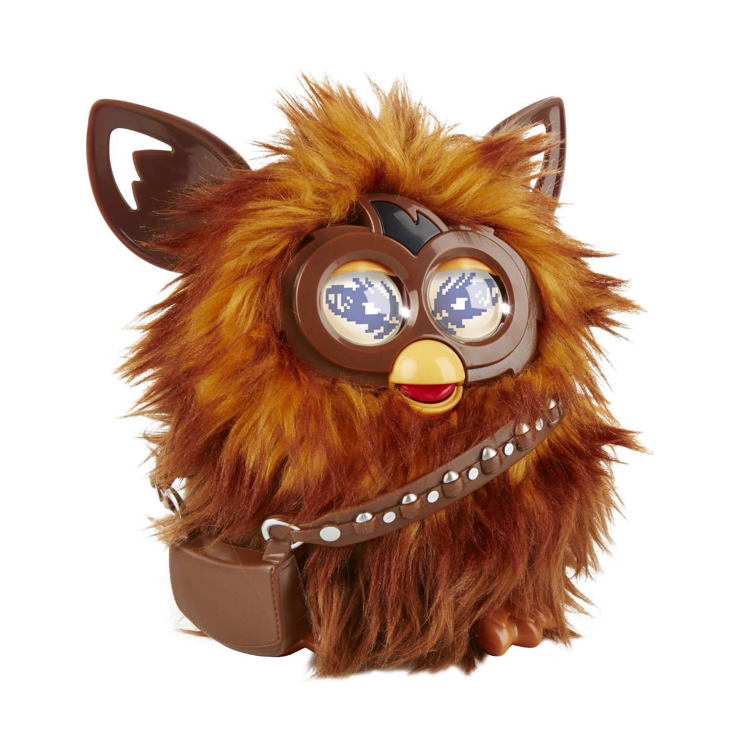 Image 1 of Star Wars Furby Furbacca Interactive Creature, Hasbro, 6+