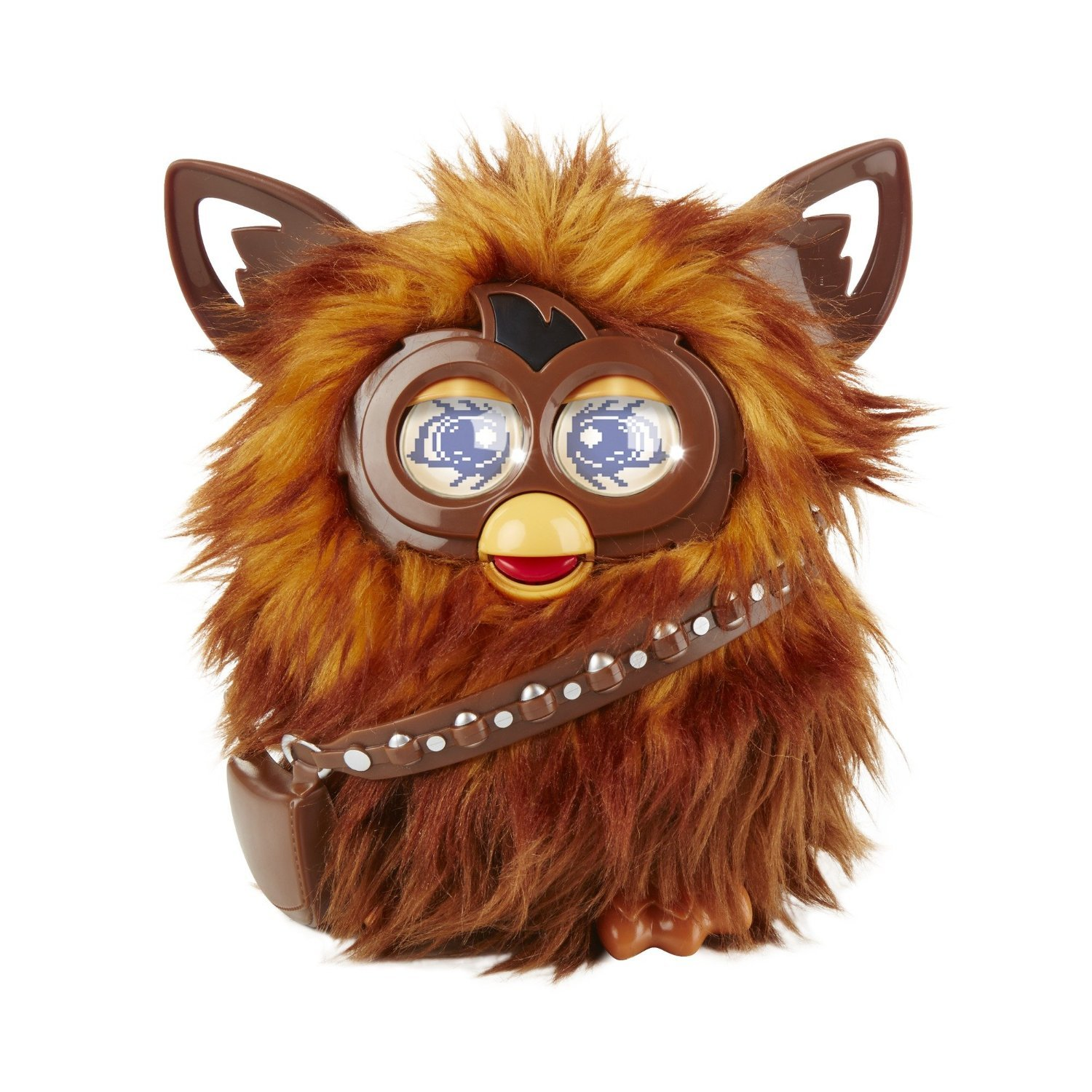 Image 0 of Star Wars Furby Furbacca Interactive Creature, Hasbro, 6+