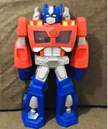 """Transformers Optimus Prime 2013 - 22"""" Huge Playskool Heroes Rescue Bots ... - $57.42"""