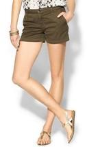 Joie Traveller Bermuda 0050-JC2006 Womens Fatigue Green Flat Front Short... - $44.99