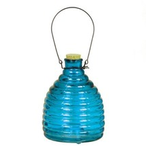 "Deep Blue Wasp Trap Vase/Lantern 5""x8"" [Kitchen]"