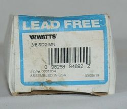 Watts Lead Free 3/8 Inch Dual Check Valve Carbonated Beverage Machines image 3