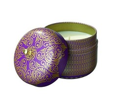 The Veda Company SoyVeda Vintage Travel Tin Candle, 8-Ounce, Amethyst [Misc.]
