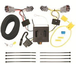 Trailer Wiring Harness Kit For 13-18 Hyundai Santa Fe Sport (5 Passenger... - $60.29